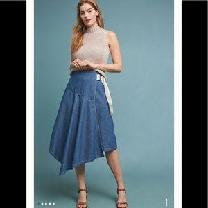 ‼️NWT Anthropologie Pilcro Denim Skirt Size 10‼️